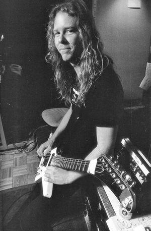 Metallica Kirk Hammett James Hetfield