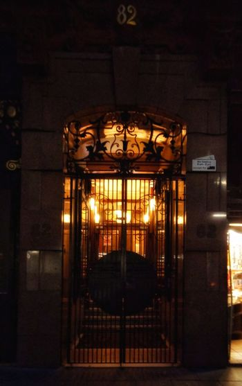 No People Architecture Doorway 82 Tenement Wrought Iron Gate Marble