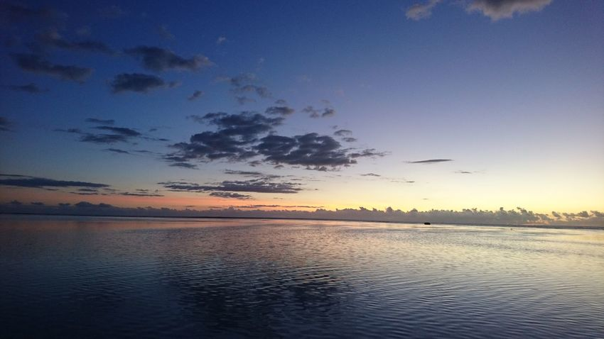 The Great Outdoors - 2018 EyeEm Awards Water Sunset Lake Blue Low Tide Reflection Silhouette Sky Horizon Over Water Landscape