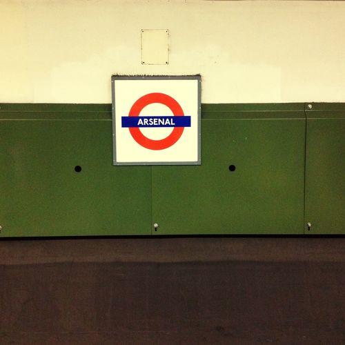 Arsenal Coyg London Underground Rule Of Thirds