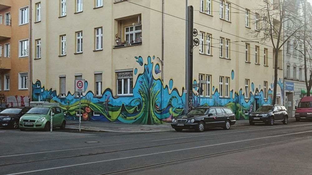 City Building Exterior No People Architecture Outdoors Day Berliner Ansichten Graffiti Berlin Photography Aerosol