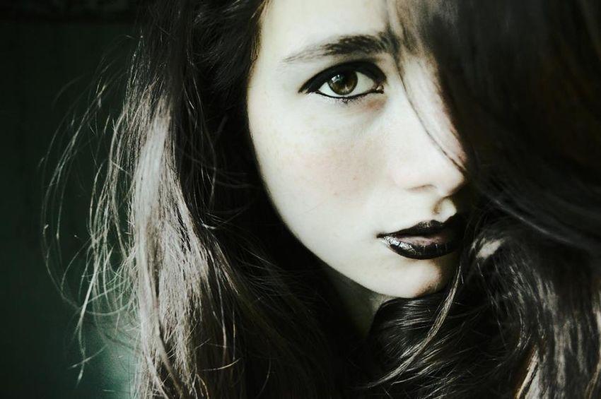 Lips Eyes Darkness Makeup