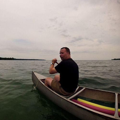 Canoe on Lakeontario  Gopro Igersottawa