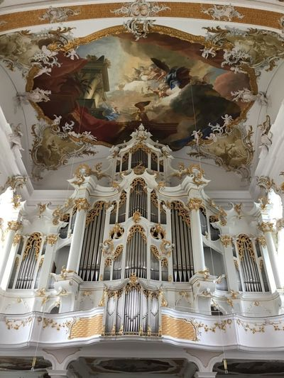 Heavenly Pipe Organ Place Of Worship Belief Religion Low Angle View Spirituality No People Architecture