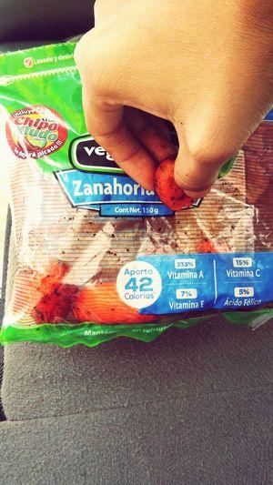 Zanahoria Snaks