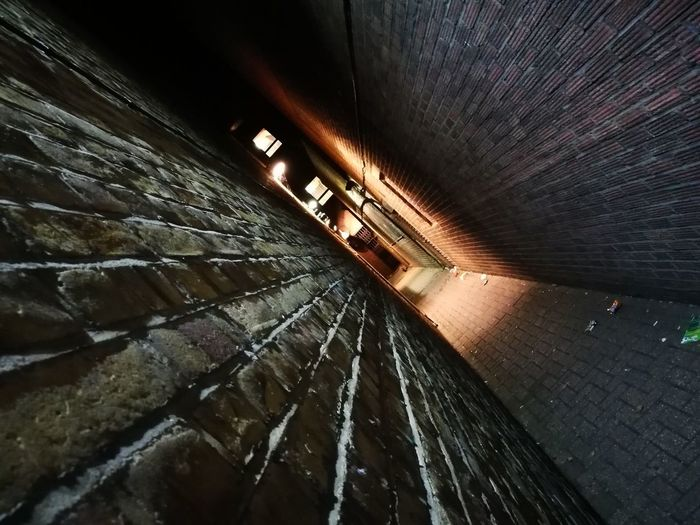 Bricks corridor