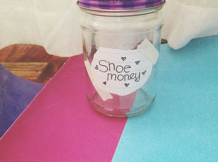 Shoe Money❤ Jar Save ;)