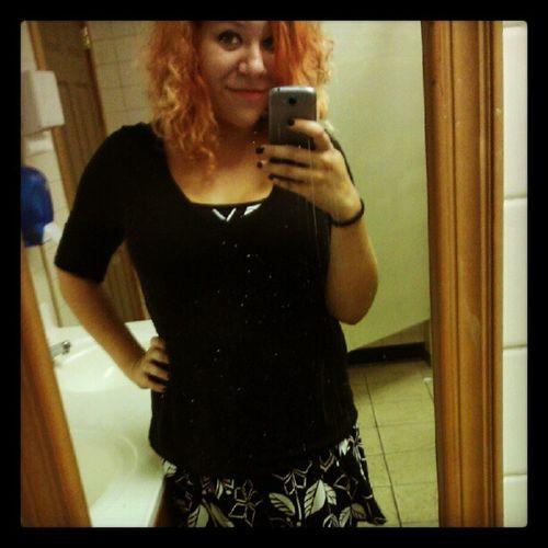 Ledo's really needs to clean their mirror. Dress Falltime Saturdaynight DirtyMirror