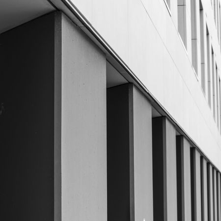 The Graphic City Architecture Axvo Blackandwhite Building Building Exterior Built Structure Close-up Day No People Outdoors The Architect - 2018 EyeEm Awards