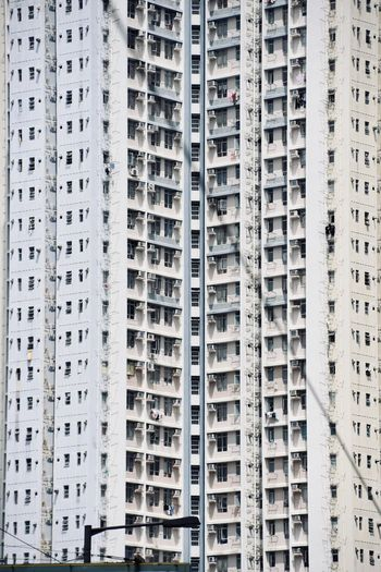 Windows of hong kong residential high rise 2