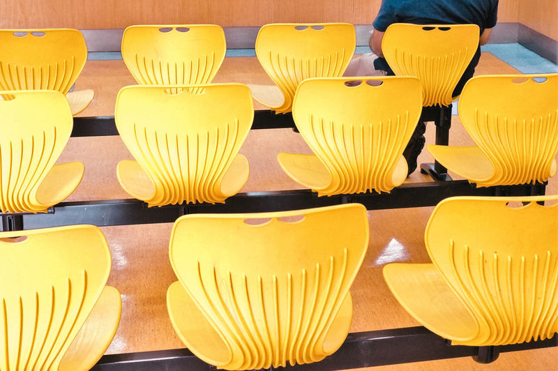 Close-up of yellow objects for sale