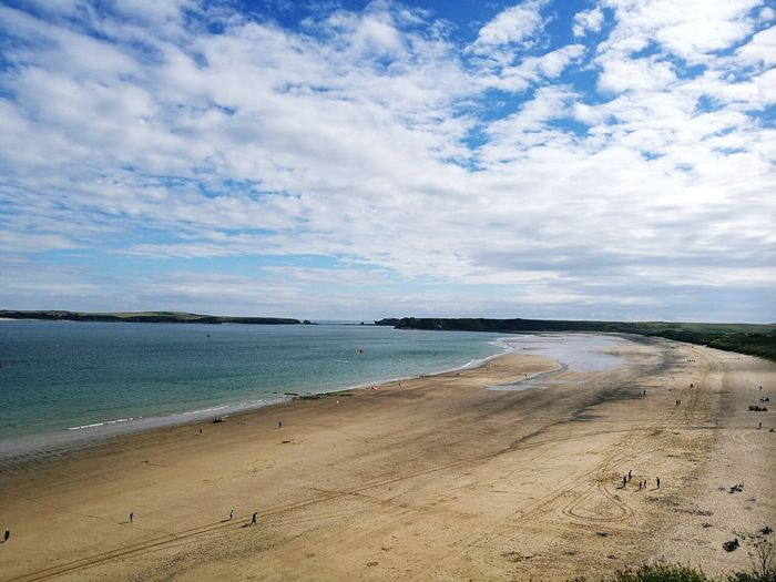 Tenby at its best... Sea Beach Scenics Water Sand Nature Beauty In Nature Sky Tranquility Tranquil Scene Horizon Over Water Shore Cloud - Sky Day Outdoors Sanddunes Ocean Island Fun Holiday