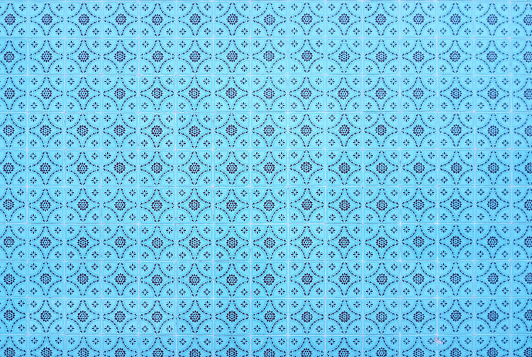Repetitive Threeweeksgalicia Azulejos Backgrounds Pattern Full Frame Textured  Blue Close-up Geometric Shape Abstract Metal No People Shape Circle Repetition Design Steel Alloy Silver - Metal Silver Colored White Color Indoors  Textured Effect Abstract Backgrounds Turquoise Colored