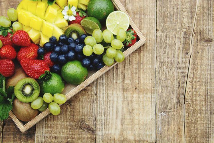 Fresh fruits: