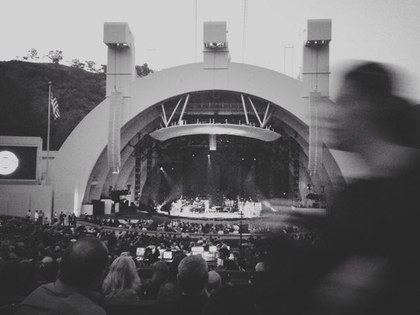 Hollywood Hollywood Bowl Glitch Showing Imperfection