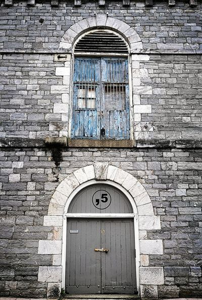 Closed Door Architecture Day Built Structure Window No People Building Exterior Outdoors Close-up Plymouth Blue Stone Old Old Buildings Weathered Seafront Shabby Chic Huawei Urban City Paint Peeling
