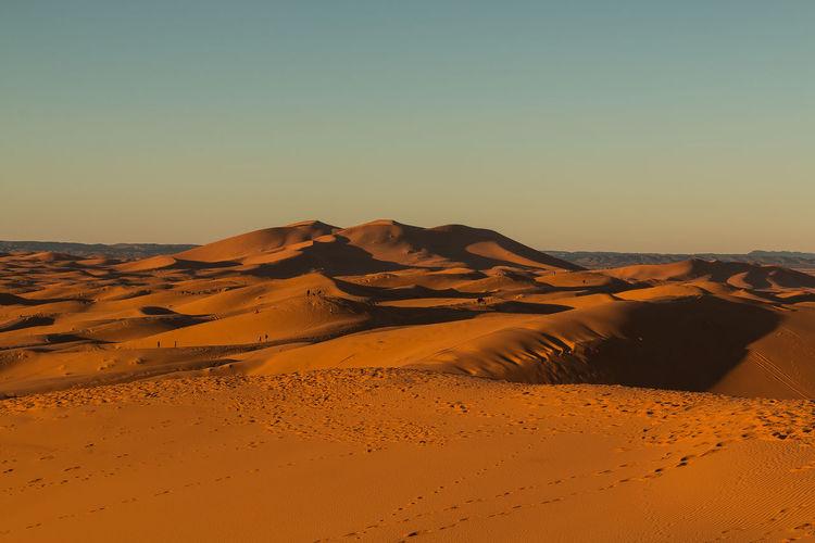 sand dunes in