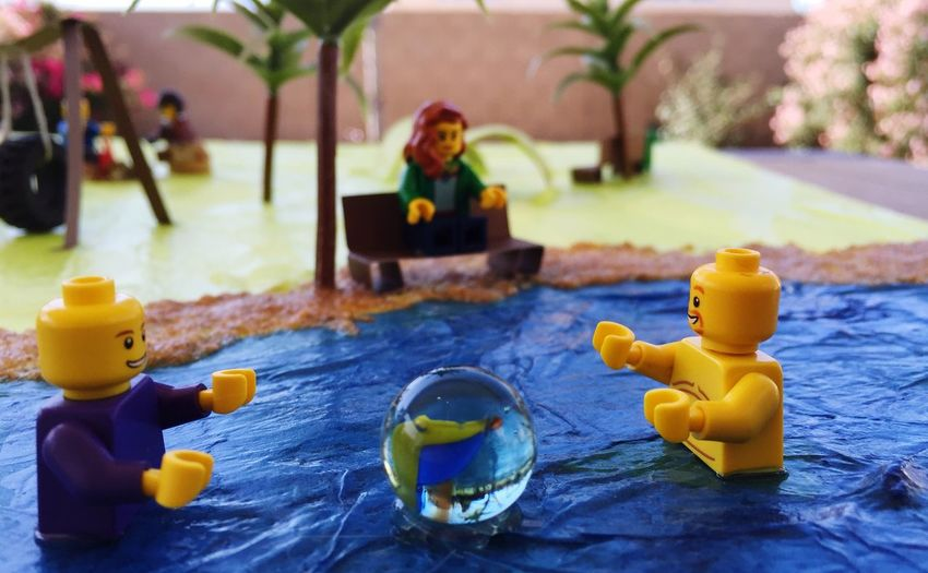 Lego Life. My son's school project. LEGO