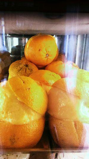 Fruit Orange Icecream Italy Napoli Food