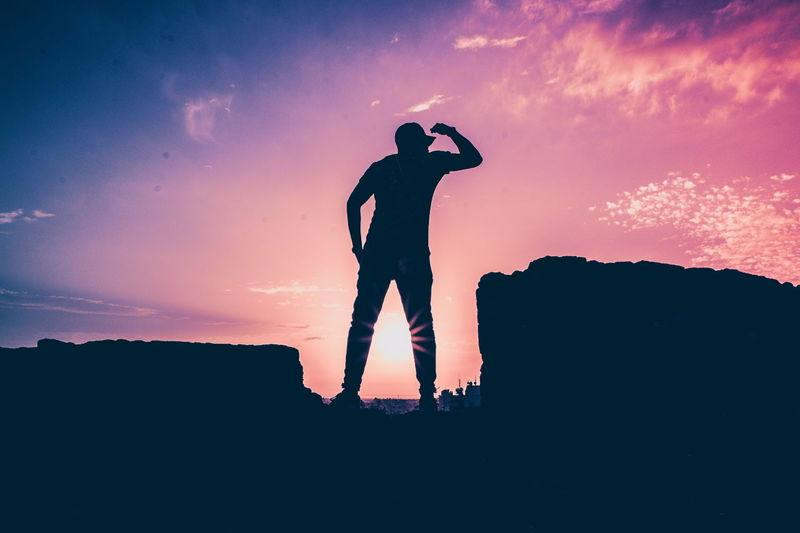 Sunset #sun #clouds #skylovers #sky #nature #beautifulinnature #naturalbeauty #photography #landscape Silhouette Silhouettes Silhouette_collection Silhouettephotography Pink Purple Power Beautiful Landscape Nature_collection EyeEm Best Shots Cyprus City Urban View Town Landscape_Collection Famagusta Sun Flares