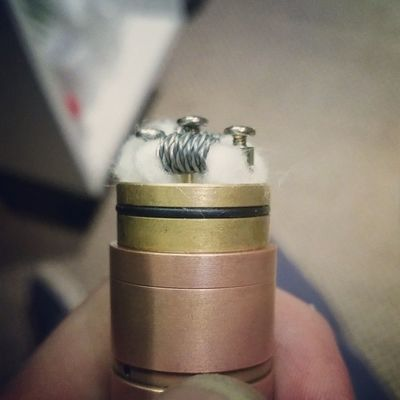 We need some more clouds in the sky... dual twisted coil .15.... Vape Clouds Cloudchasing Whitemistvapours