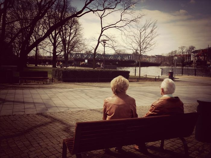 Two Of A Kind Couple - Relationship Old People Love