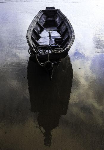 Boat at Ngwe