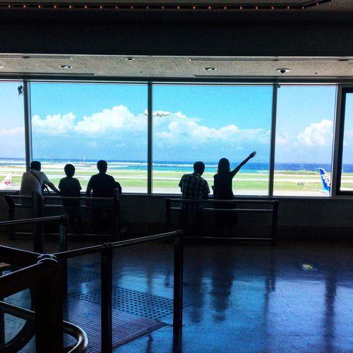 Naha Airport in Okinawa ✨