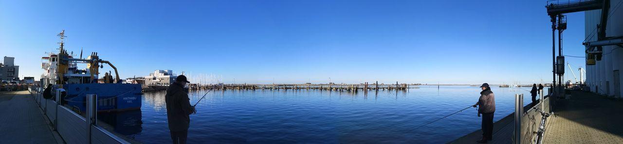 Angeln Im Hafen