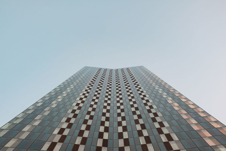 Minimalism Minimal Minimalobsession Minimalist Architecture Minimalist Building Exterior Architecture Built Structure Sky Building Office Building Exterior Tall - High Clear Sky Low Angle View No People City Modern Skyscraper Office Day Tower Copy Space Pattern Outdoors Abstract Photography