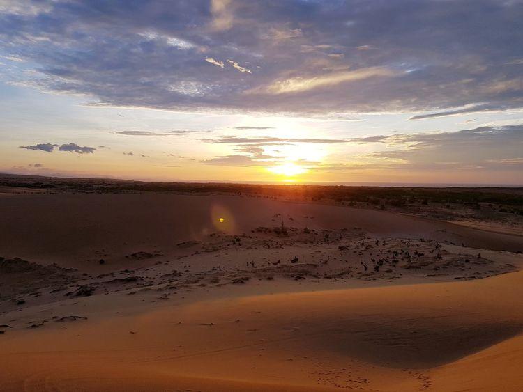 Vetnam Muine Vacations Trip Photo Sun Summer Sand Dune Tourism Landscape Nature