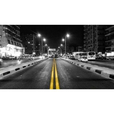 "A Re-Work Of Mustafa Alnahas Street From Abbas Alakad Intersection. Egypt Cairo Everydayegypt تصويري ""Keep going.. Learn to keep an open eye on the rough long road ahead of you, work hard you'll make it through to the very end"" by @maiarshalaby al3ameeqa 😃"