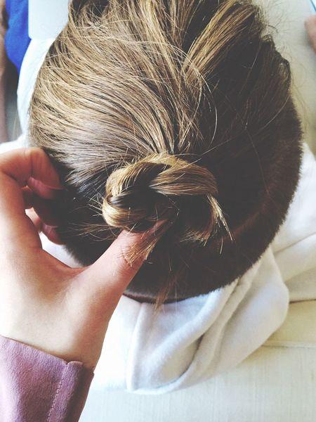 Man Bun Hair Style