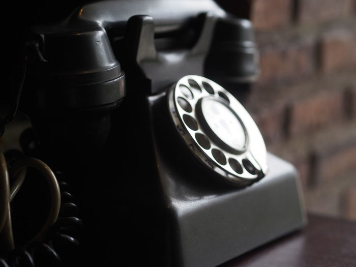 Close-up Focus On Foreground No People Selective Focus Still Life Telephone Vintage VintagePhone