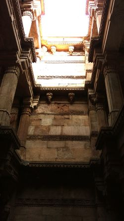 Built Structure Architecture Steps Indoors  Sky Day No People Staircase Low Angle View Step Well