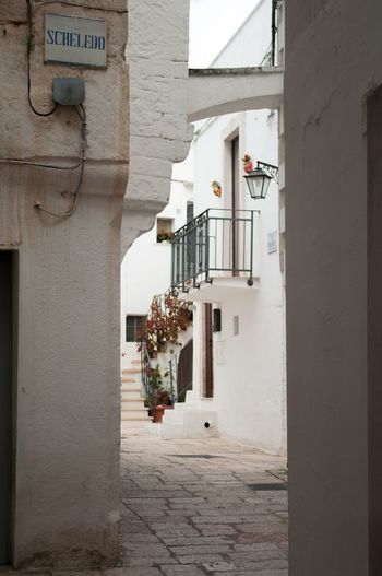 No People Built Structure Architecture Day Building Exterior Outdoors Italy Puglia South Italy Puglia Cisternino