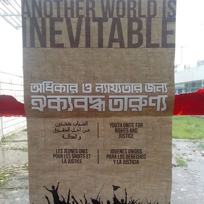 WSF2015 Another world is inevitable FSM2015