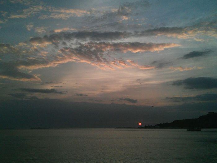 Sunset Dark Sun