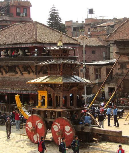 Chariot Restoration Project Artistic Structure ArtWork Tug Of War Hindu Culture Hindu Festival Architecture