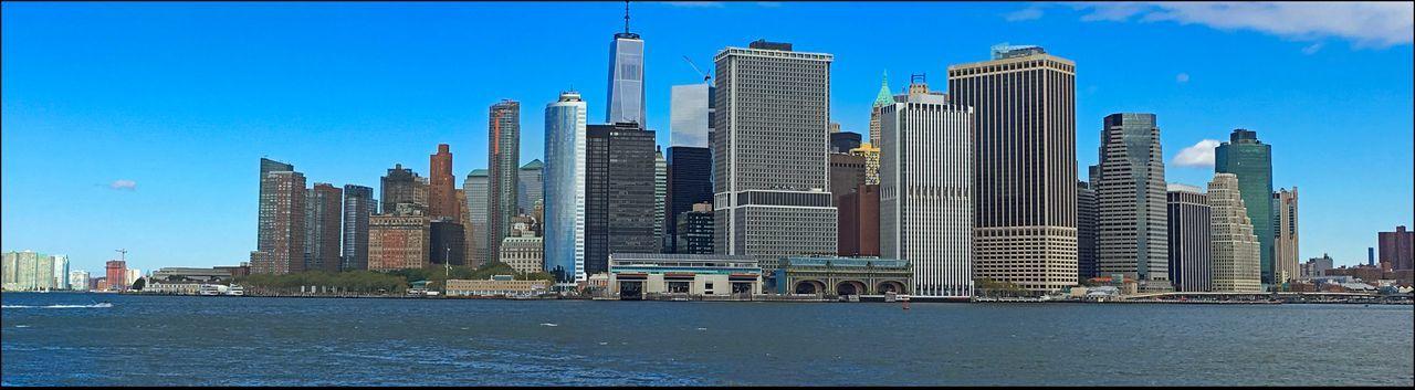 #EyeEm on GI - 9/24/16 #eyeem On GI 3 Frames Of NYC Skyline Stitched Into Pano EyeEm Photowalk In NYC IPhone 6s Photography Malephotographerofthemonth Thanks EyeEm The Journey Is The Destination