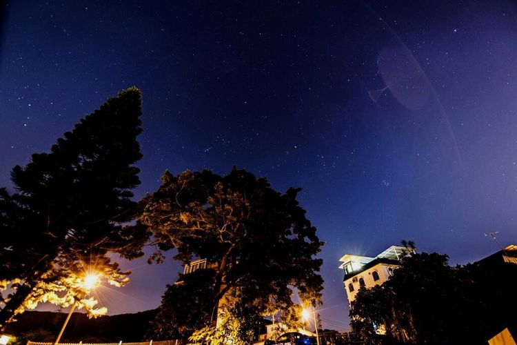 Star Field No People Night Tree Sky Village View Outdoors HongKong Villagelife