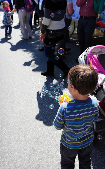 Boys Bubbles