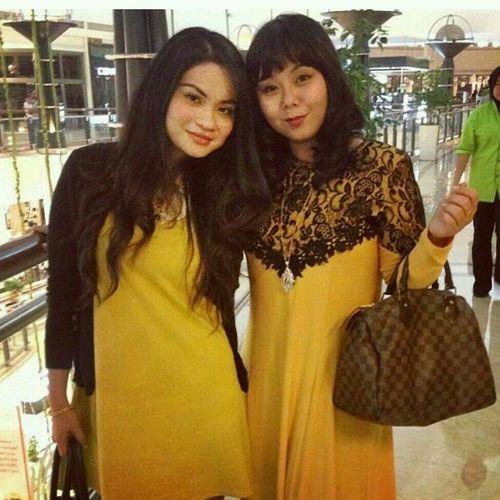 With good friend Miza ^_^ BFF ♥