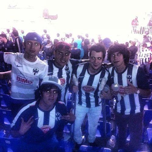 Adiccion Amigos Cancheros Hinchas rayados estadio stadium mexico monterrey mty cfm nike soccer ligamx