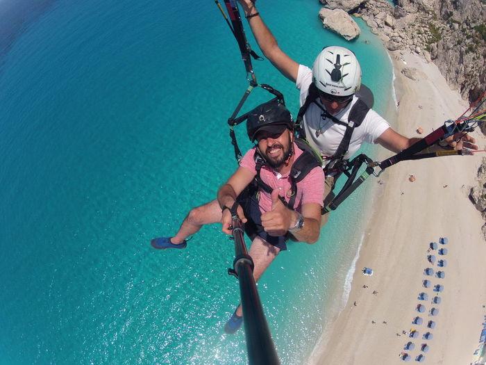 Paragliding Greece EyeEm Best Shots Lefkada Trip EyeEm Self Portrait Around The World