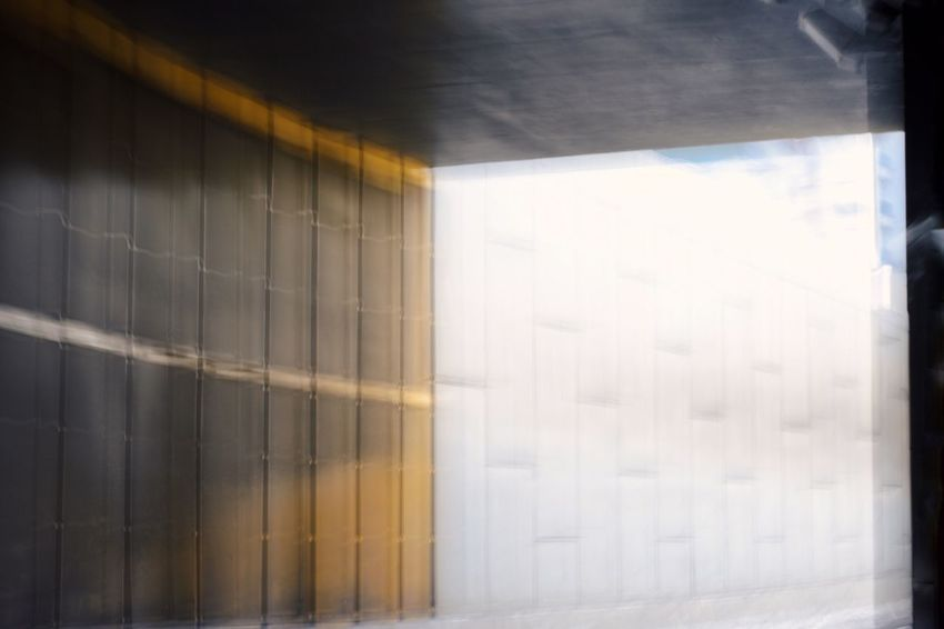 Lines, Shapes And Curves Lines And Shapes Urban Geometric Shape City Light Full Frame Blurred Urban Geometry Yellow Abstract Lines Snd Shapes Architecture Built Structure No People Day Indoors  Wall - Building Feature Building Pattern Sunlight Close-up Reflection Creative Space