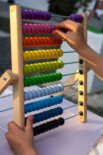 Human Hand Child Kids MySON♥ Myson Wood Game Color Colors Canonphotography Canon_photos Wood - Material Multi Colored Learning Day Hand Kid Hand  Sun Down Human Body Part Business Finance And Industry People One Person Business Education Adult Counting