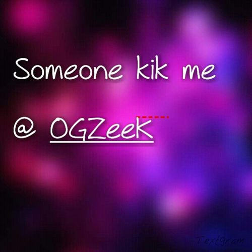 Bored.. Someone Hit Me Up...!!