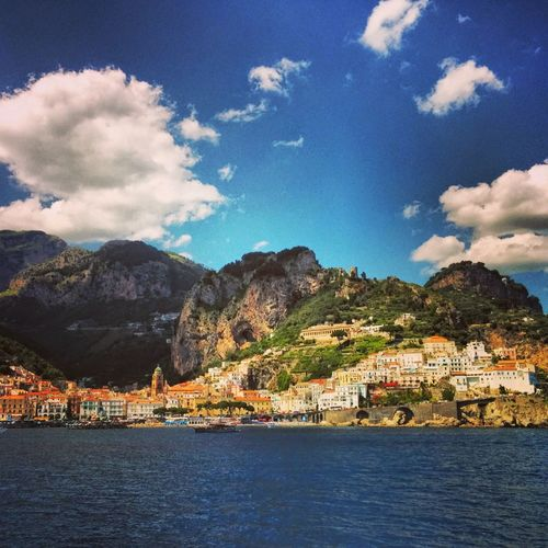 Beautiful Landscape in Amalfi . The Moment - 2014 EyeEm Awards Sky And Clouds