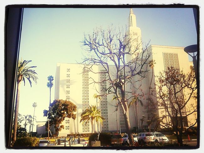 at the los Angeles temple! xD